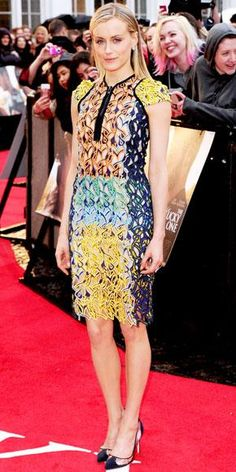 See Taylor Schilling's Best Red Carpet Looks—No Prison Jumpsuits Here! - In Peter Pilotto, 2012 from #InStyle