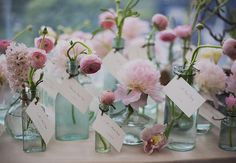 15 Escort Card Ideas You Haven't Seen All Over Pinterest | Photo by: SNAP! Weddings | TheKnot.com