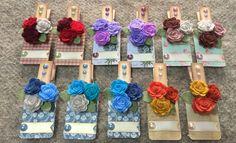 mollette/calamita/festa della mamma/clothespin/roses/