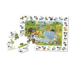 My ABC Jungle Safari