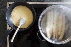 Sauce Hollandaise selber machen - Fränkische Rezepte Icing, Ice Cream, Pasta, Tableware, Desserts, Food, Saveur, Ideas, Scrappy Quilts