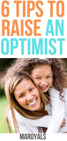 Wondering how to raise an optimistic child? After all, kids who see the glass as half full are better at dealing with life's challenges—and . New Parent Advice, Mom Advice, Parenting Advice, All About Pregnancy, Effective Learning, Thing 1, Natural Parenting, Tough Day, Going To Work