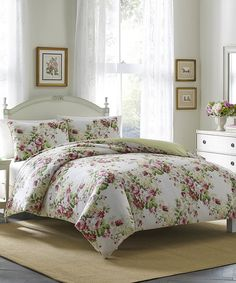 Laura Ashley Home Pink Joyce Comforter Set d1dd0c3fb