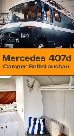 Ein gebrauchtes Wohnmobil wie der 407D von Mercedes ist eine gute Wahl als Camper. Schau hier rein!