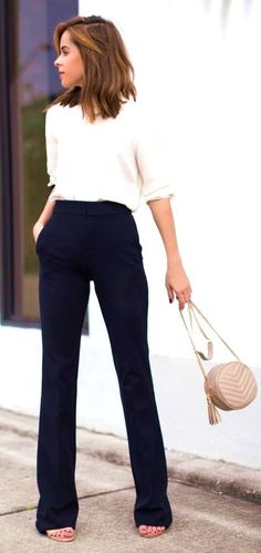 16 Spring Work Outfits That Are Actually Cute #spring #outfits #women #casual #work #office #style