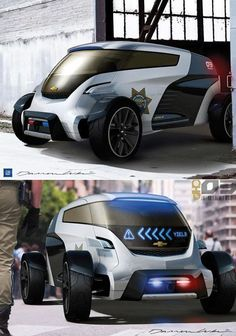 Pocket : L.A. Auto Show Design Challenge: Auto Industry's Top Designers Envision Cop Car of the Future