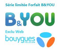 Super bon plan sur ce forfait B&YOU 20Go de Bouygues Telecom qui est en exclu Web pour seulement 3,99€/mois au lieu de 24,99€/mois pendant 1 an.