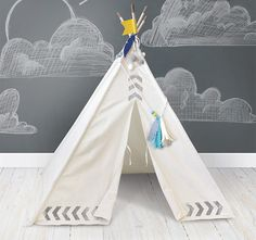 Love this Light Teepee Kit by We R Memory Keepers on Diy Teepee, Diy Paper, Paper Crafts, We R Memory Keepers, Crate Paper, Kit, Cozy House, Decoration, Clothes Hanger