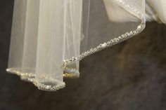 1T beaded veil minimalist new design high quality bridal