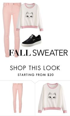 """sweater"" by aaliyah-thigpen ❤ liked on Polyvore featuring Balenciaga and Puma"
