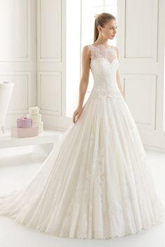 Elegant Pink Mermaid Wedding Dress