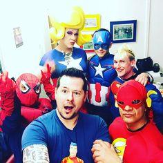 Yeah! Los geht's! Easterparty #BTC2016 #keinrisikoimapril #gossipa #superheros #boyahkasha #stophiv #hiv #undetectable #mycheckpoint #superman #captainamerica #flash #spiderman #chriss #aidshilfe #zürich #prevention #instagay #instaboy #heros #gay #gaylife #easter #eiersuche