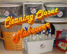 Cleaning Closet Makeover SST #3