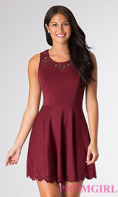 Robe bordeaux fille
