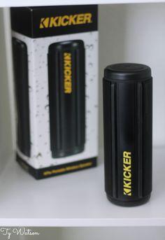 Kicker KPw Bluetooth Speaker
