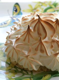 #Lemon Tarts with Toasted Meringue and Lavender Cardamom Crusts (Plus a big fat KitchenAid giveaway!)