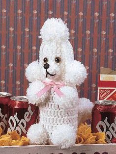 Crochet - Miscellaneous Crochet Accessories - Soda Pop Poodle