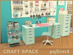 - Ellen O - Craft Space. Sims 4 Cc Furniture, Furniture Legs, Barbie Furniture, Garden Furniture, Furniture Design, Furniture Refinishing, Metal Furniture, Paint Furniture, Repurposed Furniture