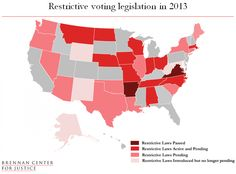 Voting Laws Roundup 2013.