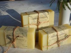 Citrus Fresh All Natural Shampoo BarGrapefruit by GreenKimono, $6.50