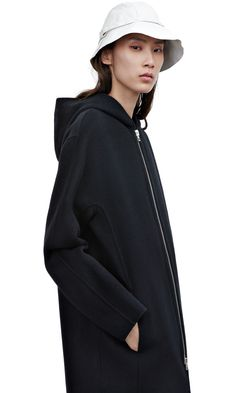 Acne - Coat - Emile doublé black