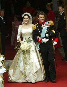 Crown Prince Fredrick and Princess Mary of Denmark