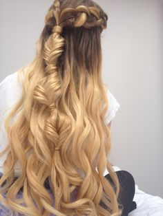 Princess hair, Dutch braids and fishtails
