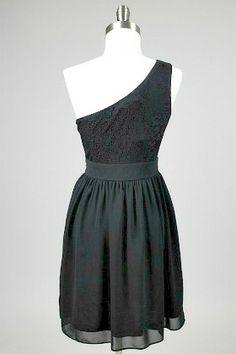 Crystal Flower One Shoulder Dress #dress #fashion amusemeboutique.com
