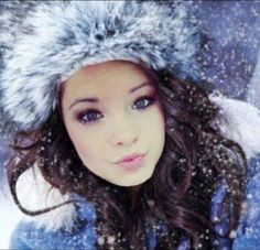 Brooke<3 she is stunning in this winter photo<3