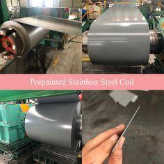 Prepainted Stainless Steel Coil  #stainlesssteel #prepaintedcoil  Wechate/WhatsApp:+8615254382836 Email:loveucandice@hotmail.com Galvanized Steel, Stainless Steel, Hot