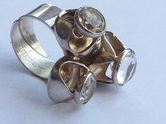 Kultaseppa Salovaara. Silver ring.
