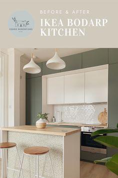 Open Plan Kitchen Living Room, New Kitchen, Dream Home Design, House Design, Straight Kitchen, Minimal Kitchen Design, Camper Makeover, Kitchen Stories, Flat Ideas