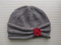 Handknitsbyelena--Yelena Chen--Rolled Brim Hat in Size Adult