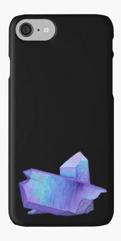 Purple crystal amethyst iPhone case.  Shop now: http://www.redbubble.com/people/marianamello/works/23611054-purple-crystal-amethyst-angel-aura-quartz-geode?asc=u&p=iphone-case&rel=carousel