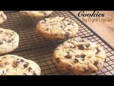 RECETTES DES COOKIES de Cyril Lignac - YouTube Biscuits, Healthy Treats, Sweet Tooth, Oven, Desserts, Macarons, Tube, Bullet Journal, Pie Cake