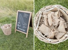 Protect your guests heels with this awesome wedding idea! A Stunning Lyveden New Bield Wedding - McKenzie-Brown Photography Weddingideas, Backdrops, Wedding Decorations, Weddings, Brown, Heels, Awesome, Photography, Heel