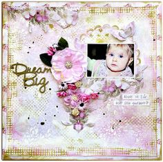 Paper and Glue Heaven: Sweet and romantic, 'Dream Big' for Lemoncraft.