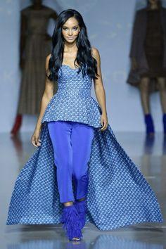 8 Stylish Ankara Looks From - Khosi Nkosi at the 2016 MB Fashion Week Joburg | Madame Solange