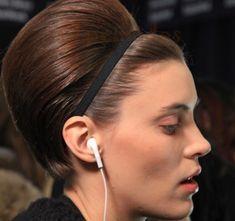 Peinado para pelo corto de otoño 2012