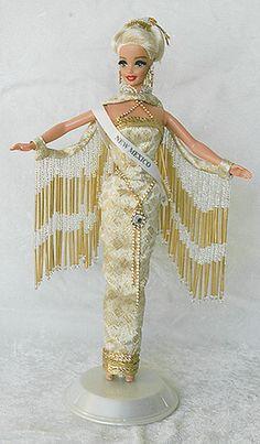 New Mexico 1997 Barbie Miss, Barbie And Ken, Barbie Style, Barbie Doll, Fashion Dolls, Fashion Dresses, Barbie Gowns, Miss Usa, Barbie Princess