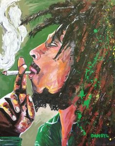 Original Bob Marley Reggae Art PAINTING Artist DAN BYL Celebrity Huge 4x5ft #Impressionism Reggae Art, Abstract Canvas, Large Art, Beach Babe, Bob Marley, Impressionism, Dan, Original Art, Celebrity