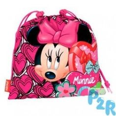 Saco De Ginástica Minnie Disney Hearts