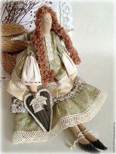 Куклы Тильды ручной работы. Ярмарка Мастеров - ручная работа Домашний Ангел (хранительница домашнего уюта). Handmade.