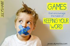 Games That Encourage the Habit of Keeping Your Word