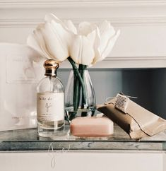 Here's to a beautiful weekend … (with a rosy glow). xx debra 1 via joie perfume | 2 flowers by...