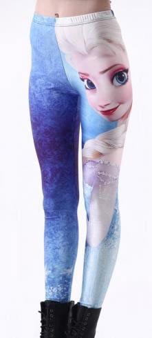Leggings Elsa. Frozen: El Reino del hielo Originales leggings basados en la película Frozen: el reino del hielo.
