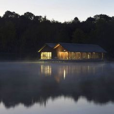 Located an hours drive from Paris Le Moulin de la Forge offers lake views and natural escapism/ Bernard Desmoulin Architectes Conference room on a lake Moulin de la Forge takes advantage of both/ Discover the full project at Architizer.com . . . . #architizer #architecture #BernardDesmoulinArchitecte #ConferenceRoomonalake #MoulinDeLaForge - Architecture and Home Decor - Bedroom - Bathroom - Kitchen And Living Room Interior Design Decorating Ideas - #architecture #design #interiordesign…