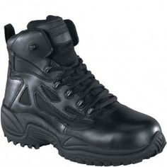 61623c8415cb89 RB8674 Reebok Men s Stealth Zipper Safety Boots - Black www.bootbay.com