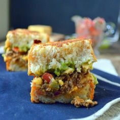 Taco Grilled Cheese Sandwiches!