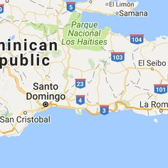 A map of the dominican republics four airports my roots dominican sharing its land mass with haiti the dominican republic is so much more than your publicscrutiny Images